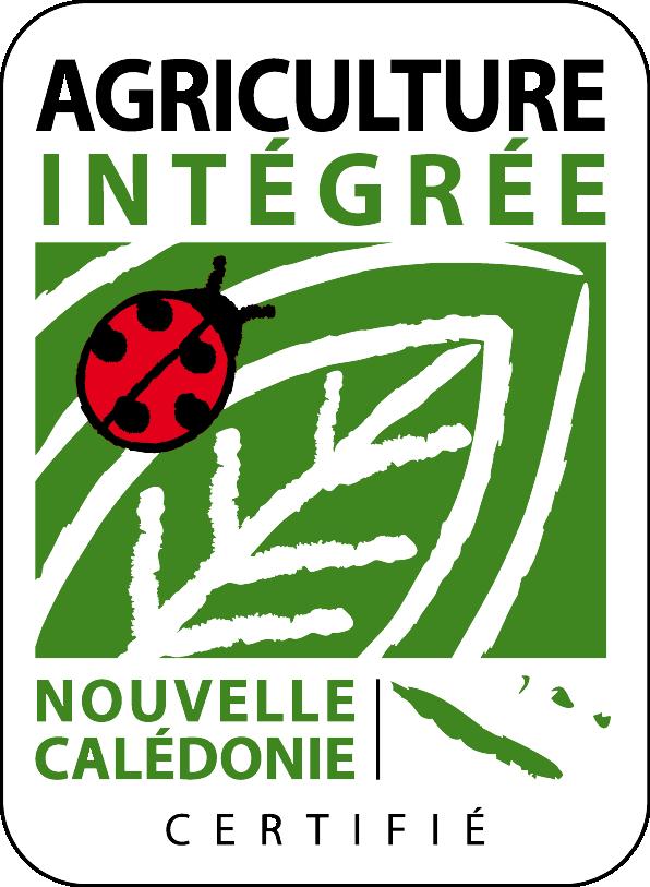 Logo de l'agriculture intégrée en Nouvelle Calédonie
