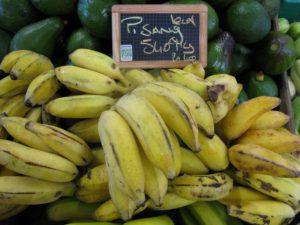 bananes + AR + mont dore + La Boutique des Producteurs + pisang